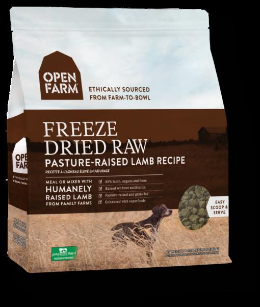 Open Farm Pasture-Raised Lamb Recipe