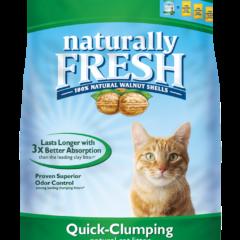Naturally Fresh Walnut Cat Litter