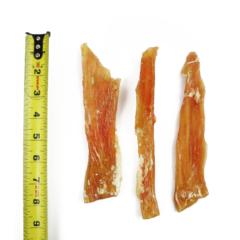 One Ingredient Beef Backstrap Chews - One Pound