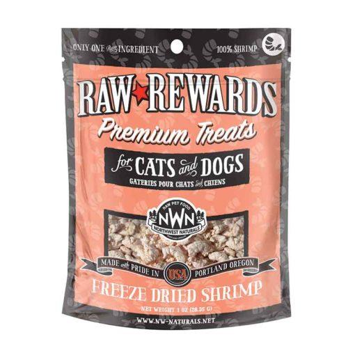 Raw Rewards Freeze-Dried Shrimp