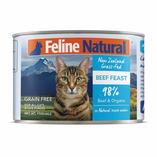 Feline Natural Beef Feast