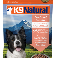 K9 Natural Freeze-Dried Lamb & Salmon Feast