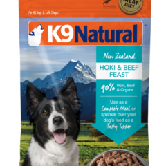 K9 Natural Freeze-Dried Beef & Hoki Feast