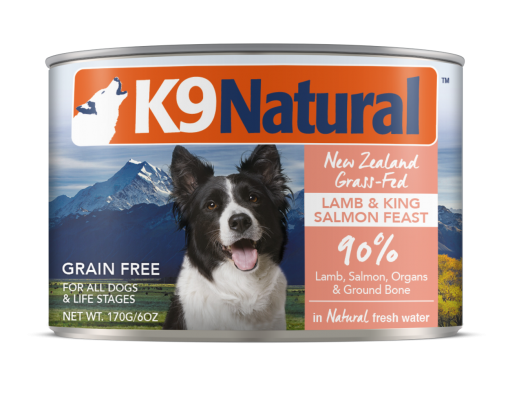 K9 Natural Lamb & King Salmon Feast Canned Dog Cuisine