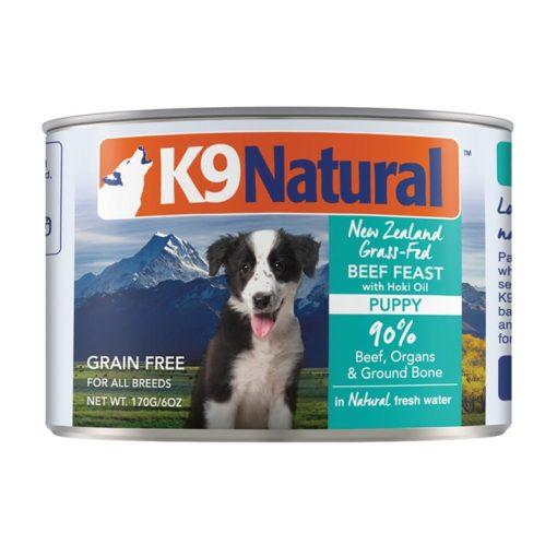 K9 Natural Puppy Beef with Hoki Oil Canned Cuisine
