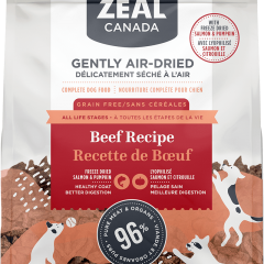 Zeal Air-Dried Beef with Freeze-Dried Salmon & Pumpkin