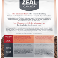 Zeal Air-Dried Beef for Dogs