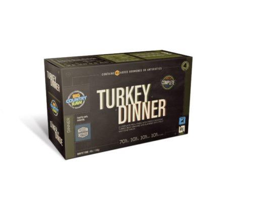 Big Country Raw Turkey Dinner