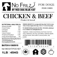 Red Dog Blue Kat Chicken & Beef No Frilz Recipe