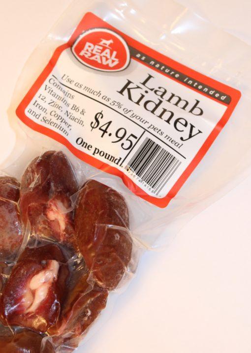 Real Raw Lamb Kidney