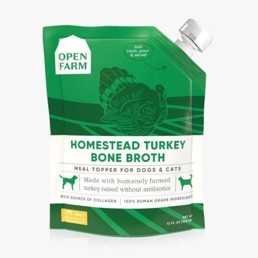Open Farm Homestead Turkey Bone Broth
