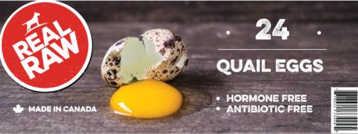 Real Raw 24pk Quail Egg