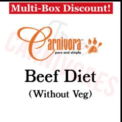 Carnivora Beef Diet