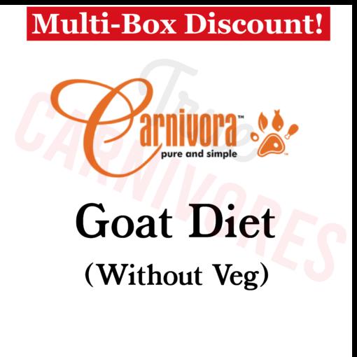 Carnivora Goat Diet