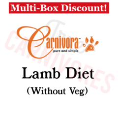 Carnivora Lamb Diet