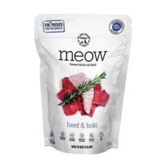 Meow Beef & Hoki