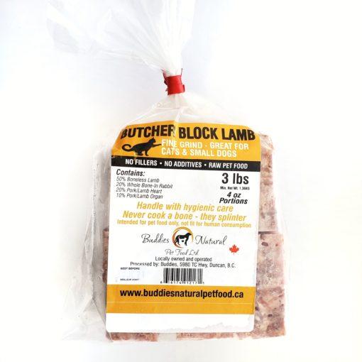 Buddies Cat Butcher Block Lamb