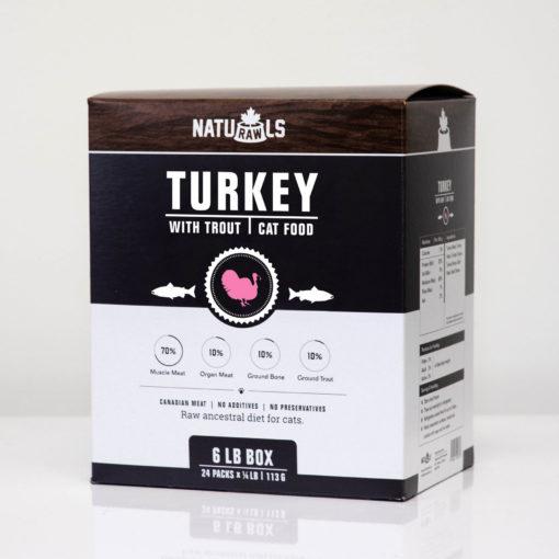 Naturawls Turkey & Trout Dinner for Cats