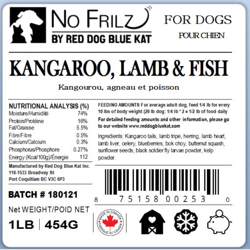 No Frilz Kangaroo