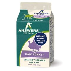 Answers Pastured Organic Turkey for Cats