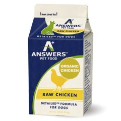 Answers Pastured Organic Chicken for Dogs