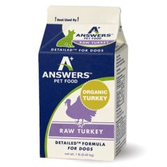 Answers Pastured Organic Turkey for Dogs