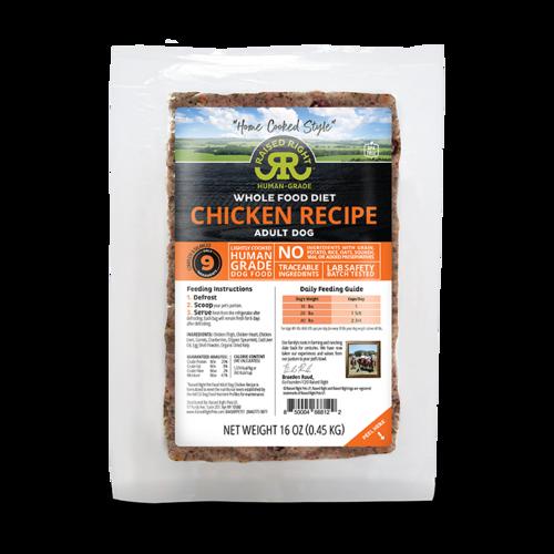 Raised Right Chicken Recipe