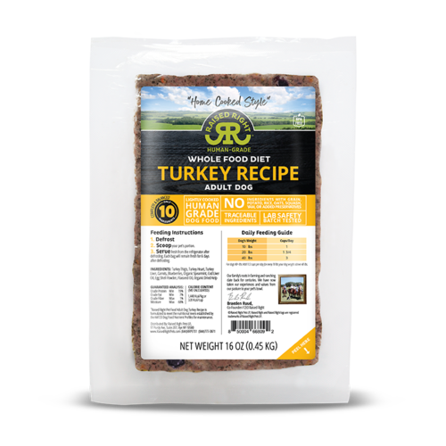 Raised Right Turkey Recipe