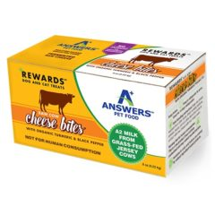Answers Raw Cow Cheese Bites